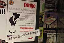 Comedy and Continence - Edinburgh Fringe Festival