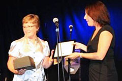 Physiotherapist Jo Laycock Receives the ICS Lifetime Achievement Award 2011